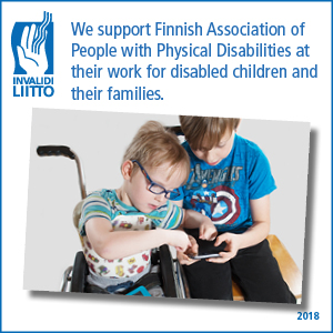 MenSe supports Finnish Association of People with Physical Disabilities at their work